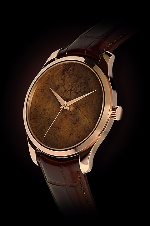 BASELWORLD 2015 New Watch ArtyA Gold Tobacco