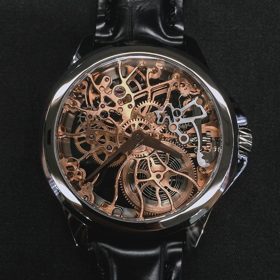 brand new 49488 c6154 スケルトンでアーティアの腕時計に新境地! | スイスの高級時計 ...