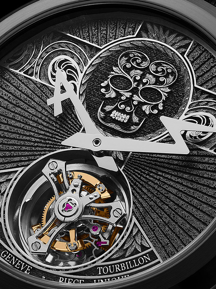 Mexican Skull Tourbillon
