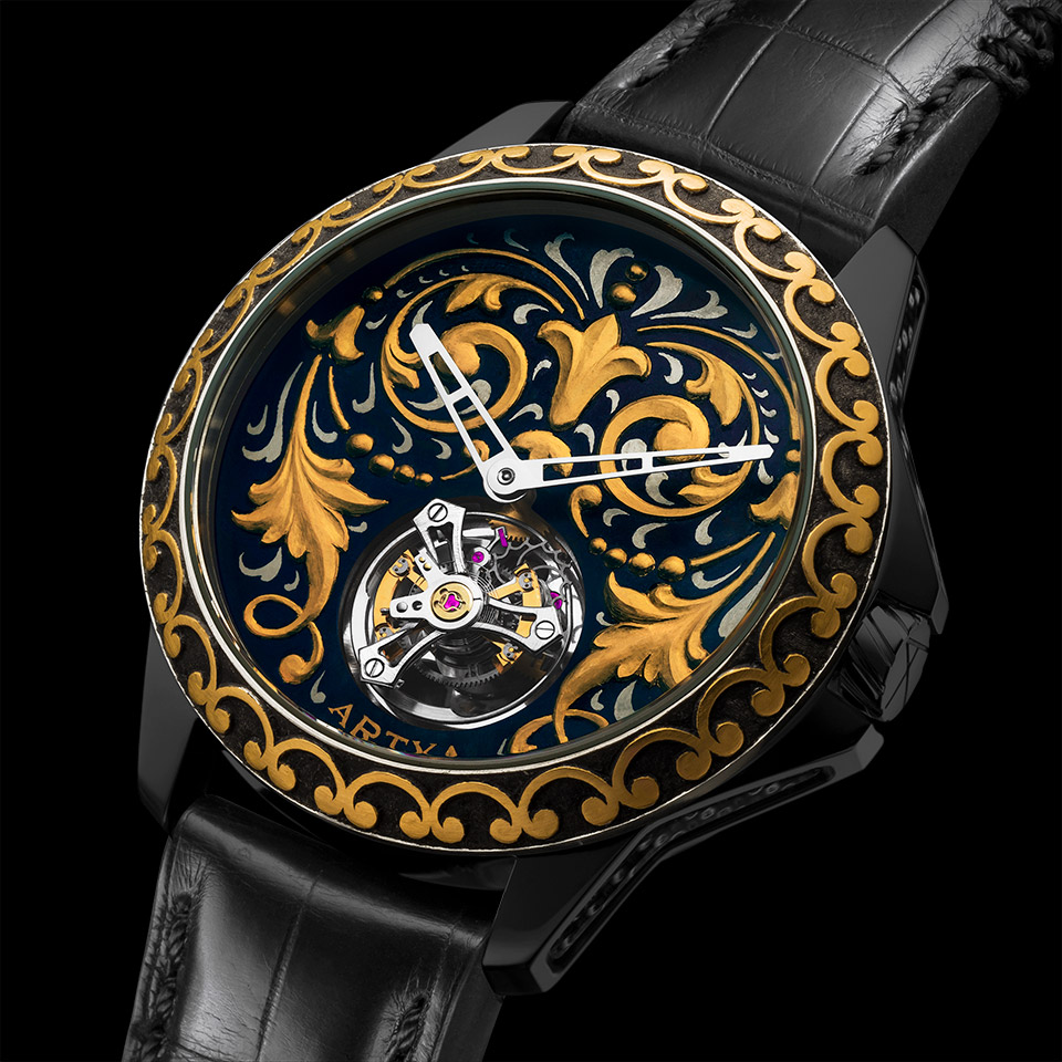 SCULPTED GOLD TOURBILLON